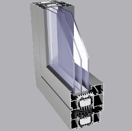 hliníkový profil aliplast star