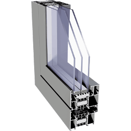 hliníkový profil aliplast superial i+
